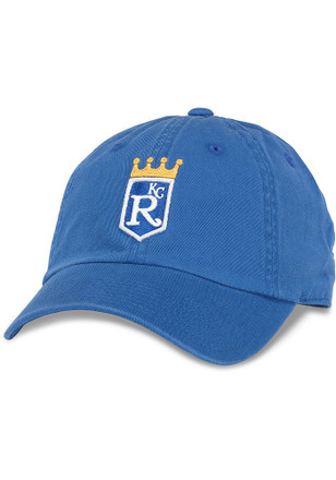 Kansas City Royals Mens Blue Ballpark Adjustable Hat