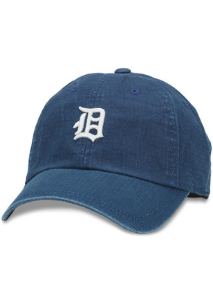 Detroit Tigers Mens Navy Blue Conway Adjustable Hat