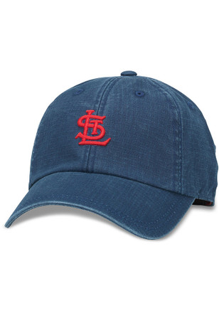 St Louis Cardinals Mens Navy Blue Conway Adjustable Hat