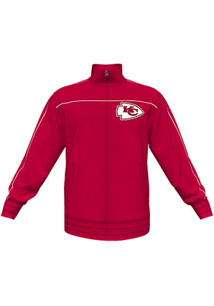 Kansas City Chiefs Mens Red Tailgate Time IV Track Jacket