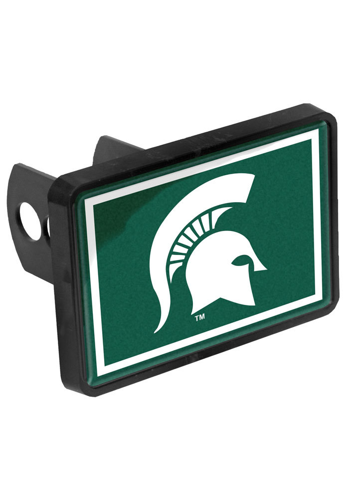 Michigan State Spartans Universal Car Accessory Hitch Cover - Image 1