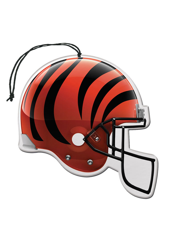 Cincinnati Bengals 3 Pack Auto Air Fresheners - Orange - Image 1