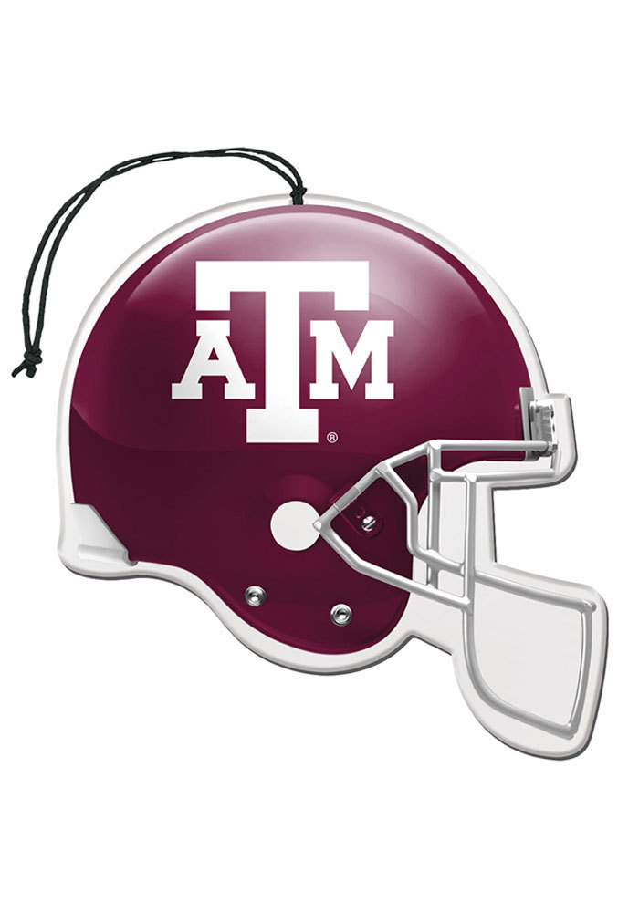 Texas A&M Aggies 3 Pack Auto Air Fresheners - Maroon - Image 1