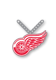 Detroit Red Wings Womens Logo Necklace - Silver