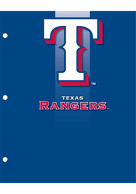 Texas Rangers Portfolio Notebooks and Folders
