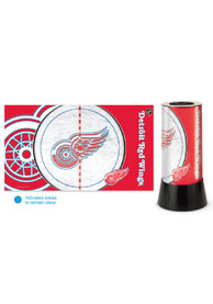Detroit Red Wings Field View Rotating Table Lamp