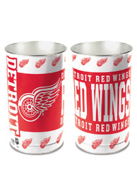 Detroit Red Wings Logo Tapered Waste Basket