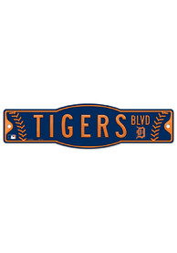 Detroit Tigers Blvd Street Sign