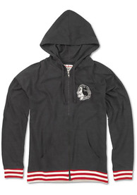 Chicago Blackhawks Womens Selene Full Zip Jacket - Grey
