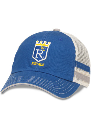 Kansas City Royals Mens Blue Foundry Adjustable Hat