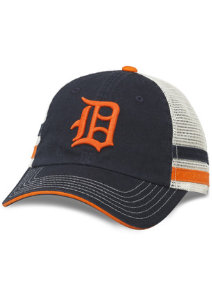 Detroit Tigers Mens Navy Blue Foundry Adjustable Hat