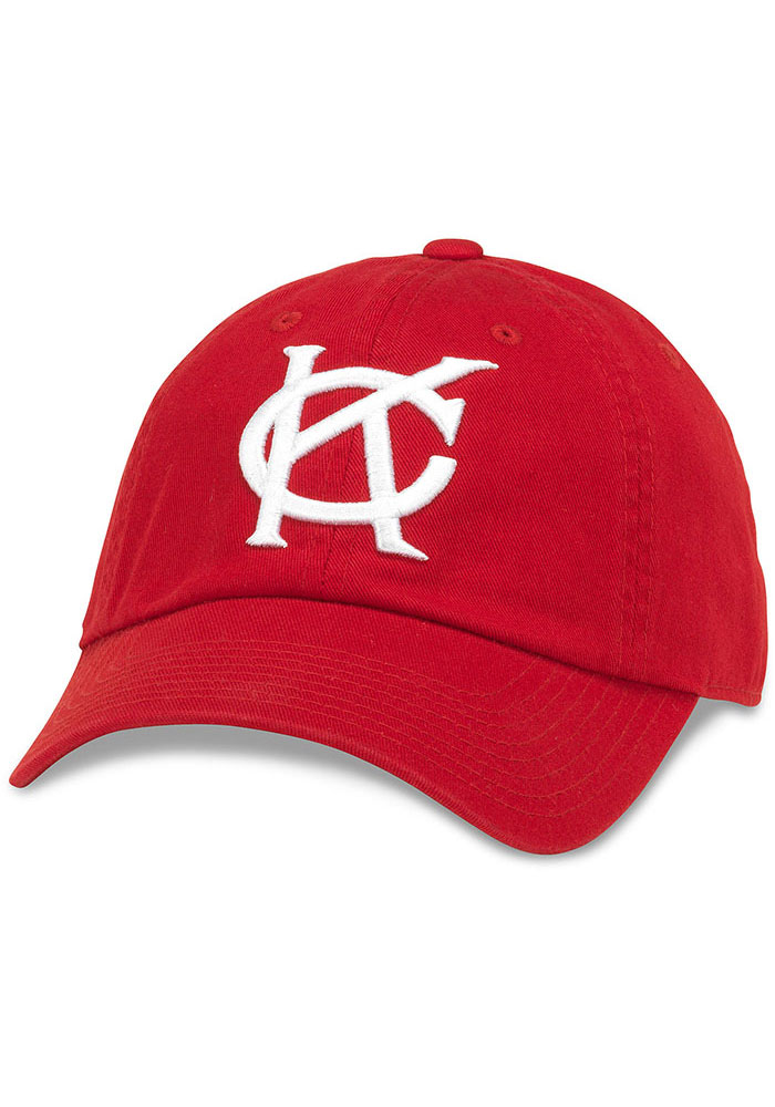 Kansas City Monarchs Ballpark Adjustable Hat - Red - Image 1