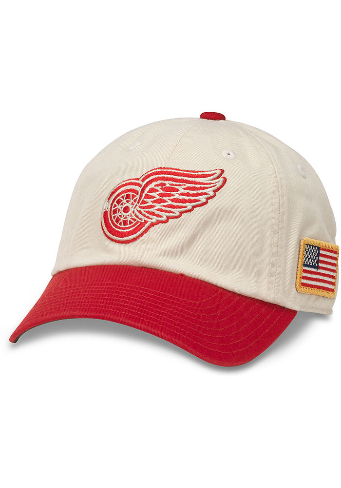 Detroit Red Wings United Slouch Adjustable Hat - White - Image 1
