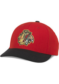 Chicago Blackhawks Tradition Adjustable Hat - Red