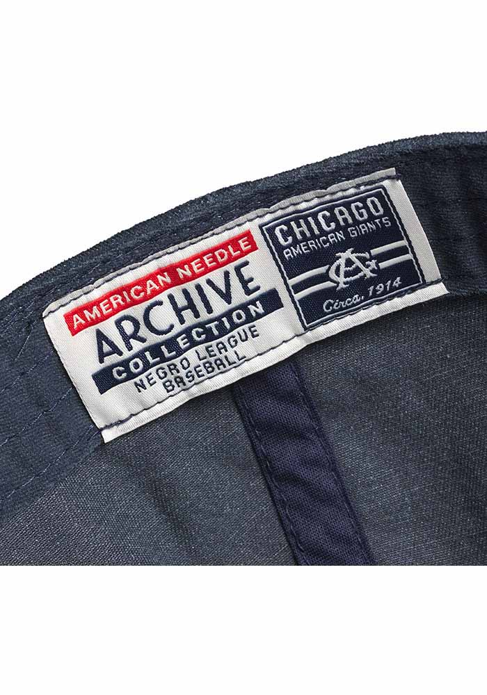 Chicago American Giants Archive Adjustable Hat - Navy Blue - Image 2