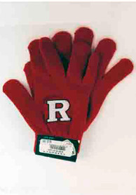 Rutgers Scarlet Knights Top of the World Raised Logo Gloves - Red