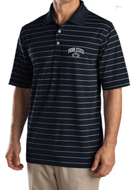 Penn State Nittany Lions Cutter and Buck Sweeten Stripe Polo Shirt - Navy Blue