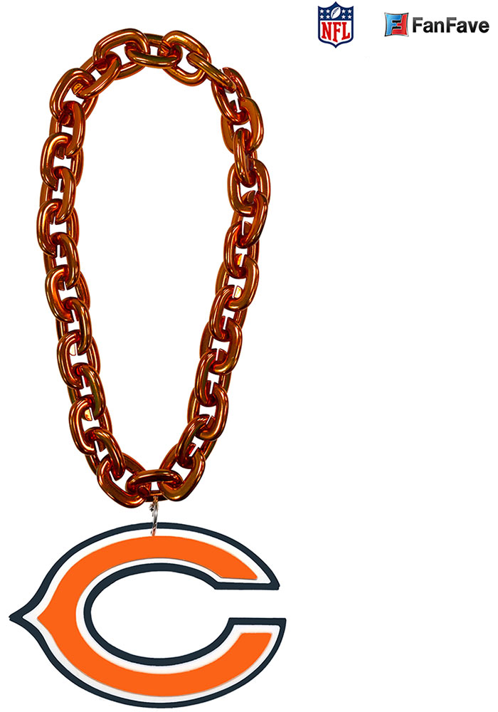 Chicago Bears Fan Chain Spirit Necklace - Image 1