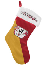 Kansas City Chiefs Super Bowl LIV Champions Stocking
