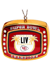 Kansas City Chiefs Super Bowl LIV Champions Ring Ornament