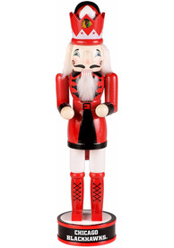 Chicago Blackhawks 14 Holiday Nutcracker Decor