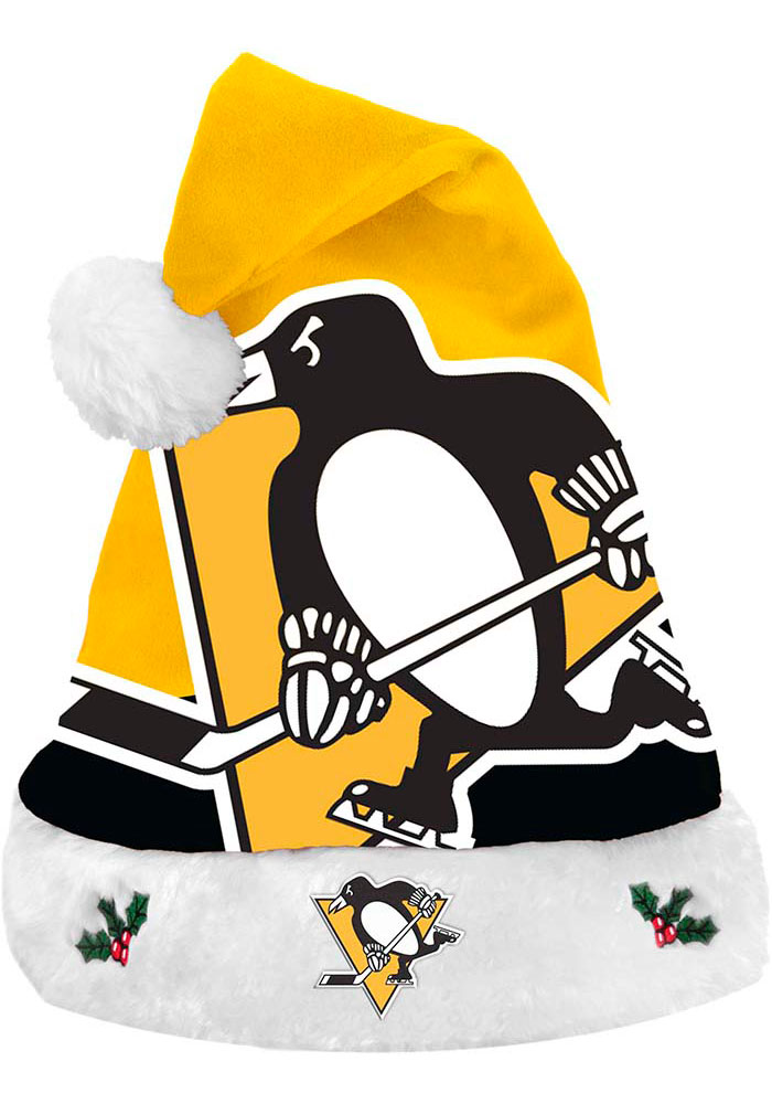 Pittsburgh Penguins Light Up Santa Hat