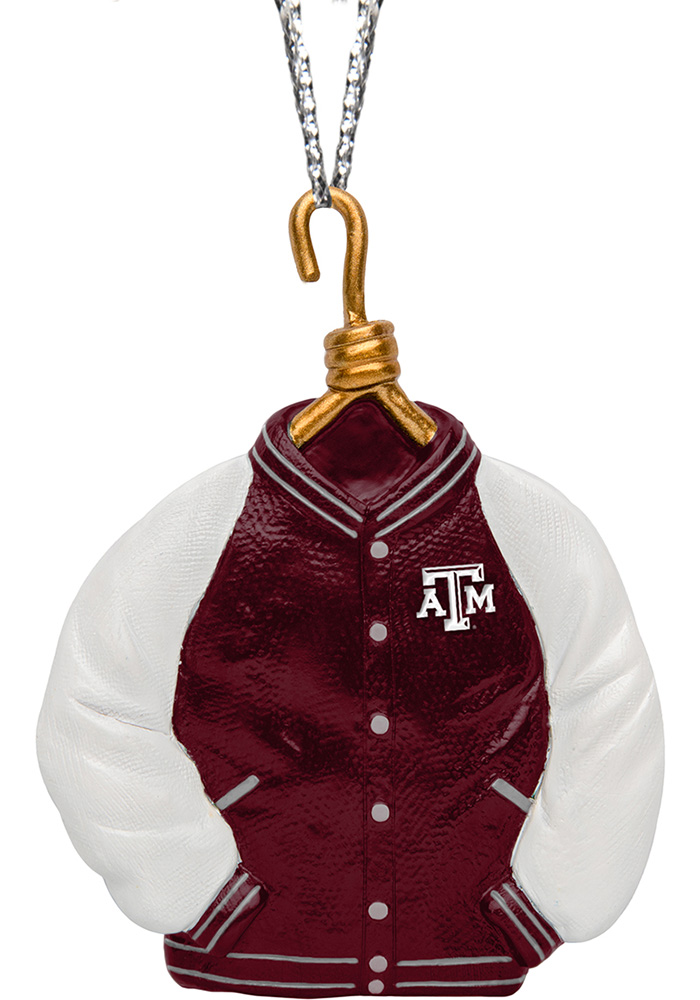 Texas A&M Aggies Varsity Jacket Ornament