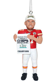 Kansas City Chiefs Super Bowl LIV Champions Kelce Ornament