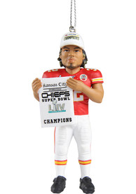 Kansas City Chiefs Super Bowl LIV Champions Mathieu Ornament