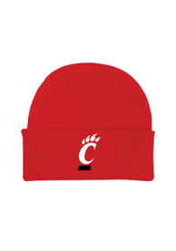 Cincinnati Bearcats Solid Newborn Knit Hat - Red