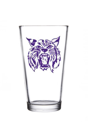 K-State Wildcats 1967 Mascot Logo Pint Glass