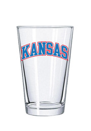 Kansas Jayhawks School Name Pint Glass
