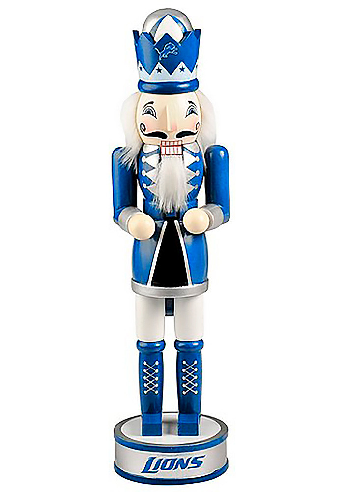Detroit Lions 14 Inch Holiday Decor - Image 1