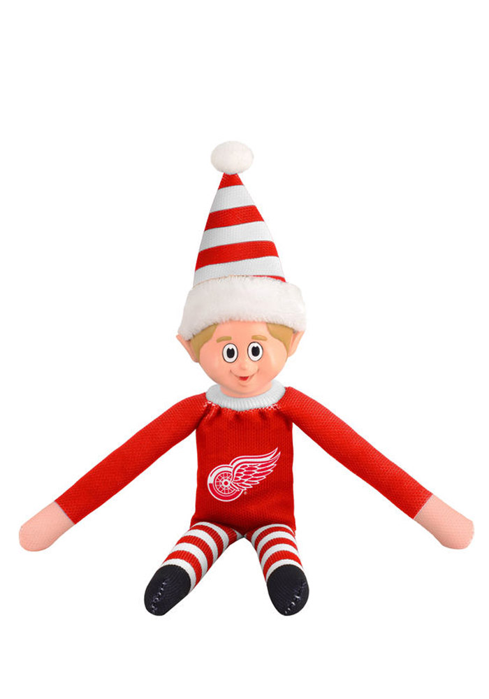 Detroit Red Wings Team Elf Decor - Image 1