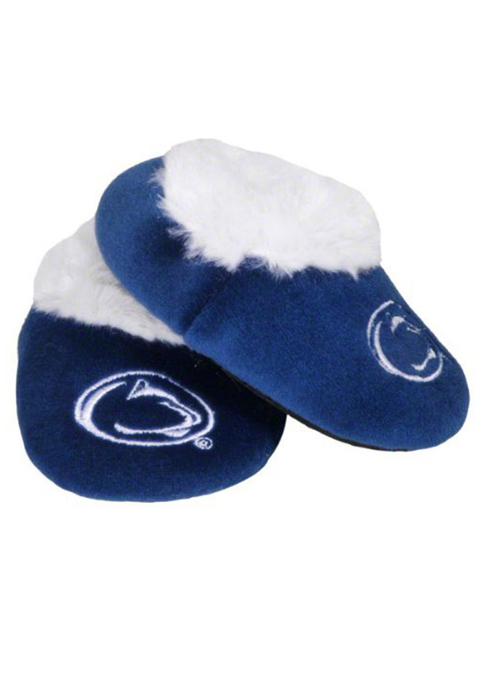 Penn State Nittany Lions Fuzzy Baby Slippers - Image 1