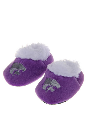 K-State Wildcats Fuzzy Slippers