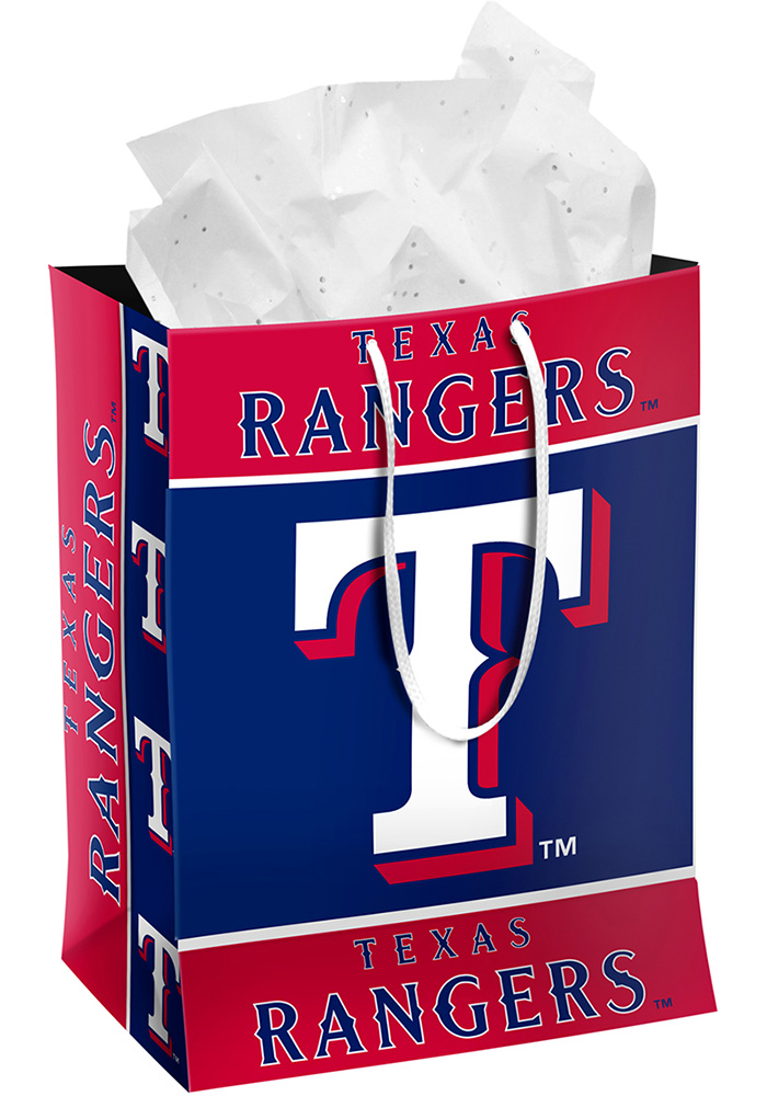 Texas Rangers Medium Red Gift Bag 16051196