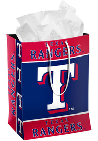 Texas Rangers Medium Red Gift Bag