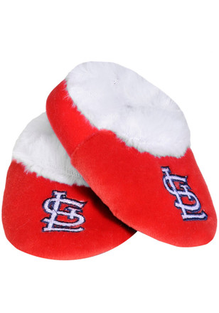 St Louis Cardinals Fuzzy Slippers