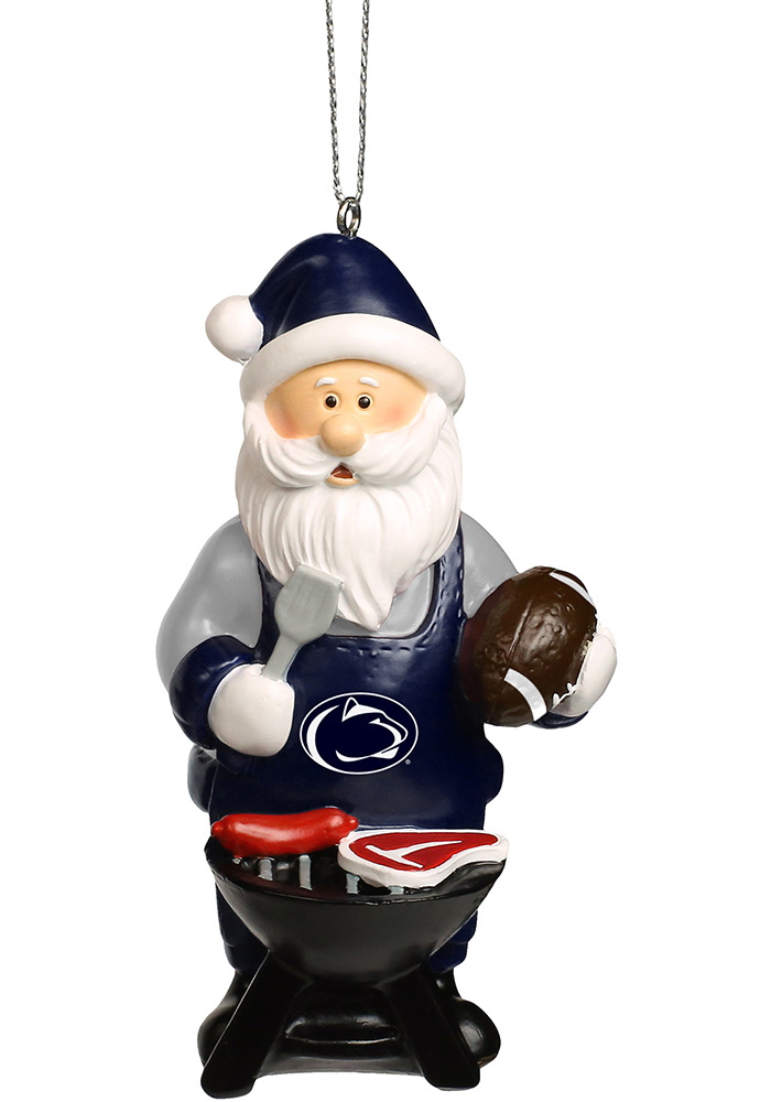 Penn State Nittany Lions Santa Grill Ornament - Image 1