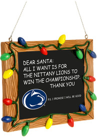 Penn State Nittany Lions Chalkboard Sign Ornament