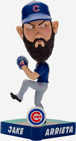 Jake Arrieta Chicago Cubs Caricature Bobblehead