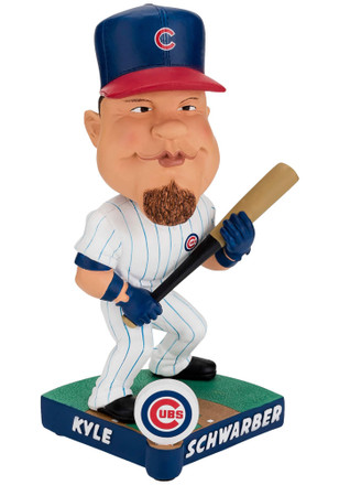 Kyle Schwarber Chicago Cubs Caricature Bobblehead