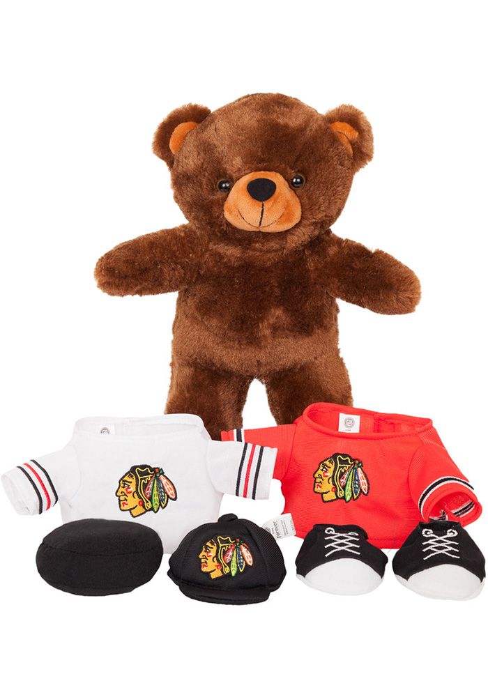 Chicago Blackhawks Locker Room Buddy Plush - Image 1