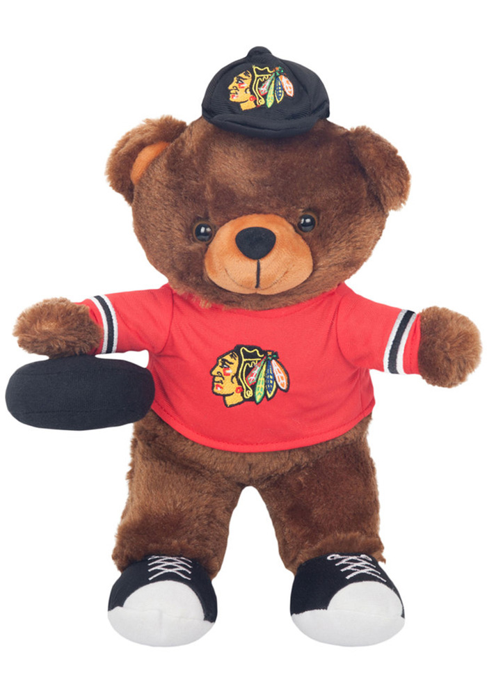 Chicago Blackhawks Locker Room Buddy Plush - Image 2