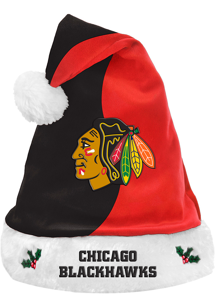 Chicago Blackhawks 2017 Basic Santa Hat - Image 1