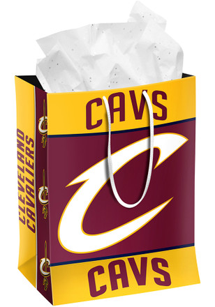 Cleveland Cavaliers Team Color Medium Red Gift Bag