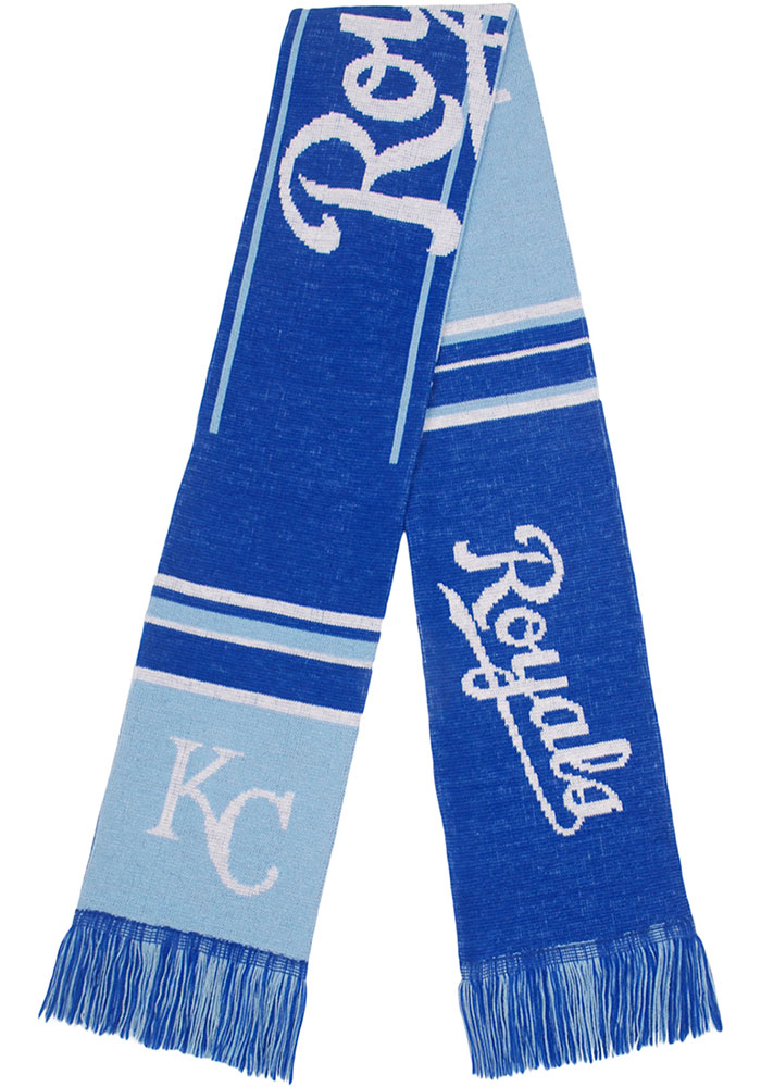 Kansas City Royals Two Sided Color Block Scarf - Blue