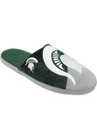 Michigan State Spartans Color Block Slide Slippers