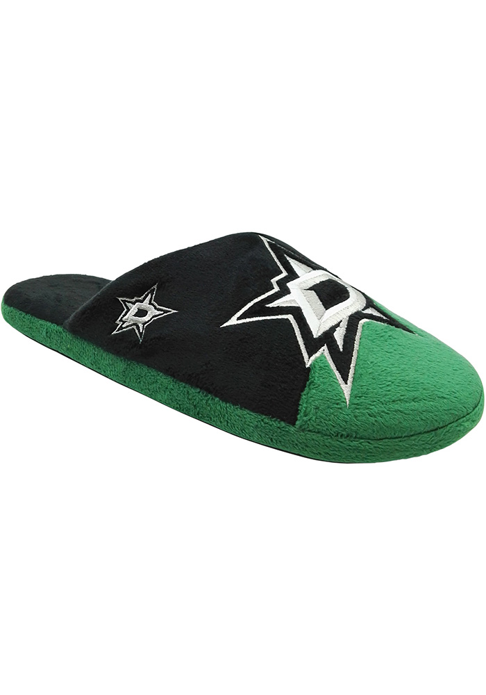 Dallas Stars Color Block Slide Youth Slippers - Image 1